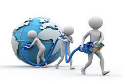 راه اندازی شغل تولید توزیع اینترنت